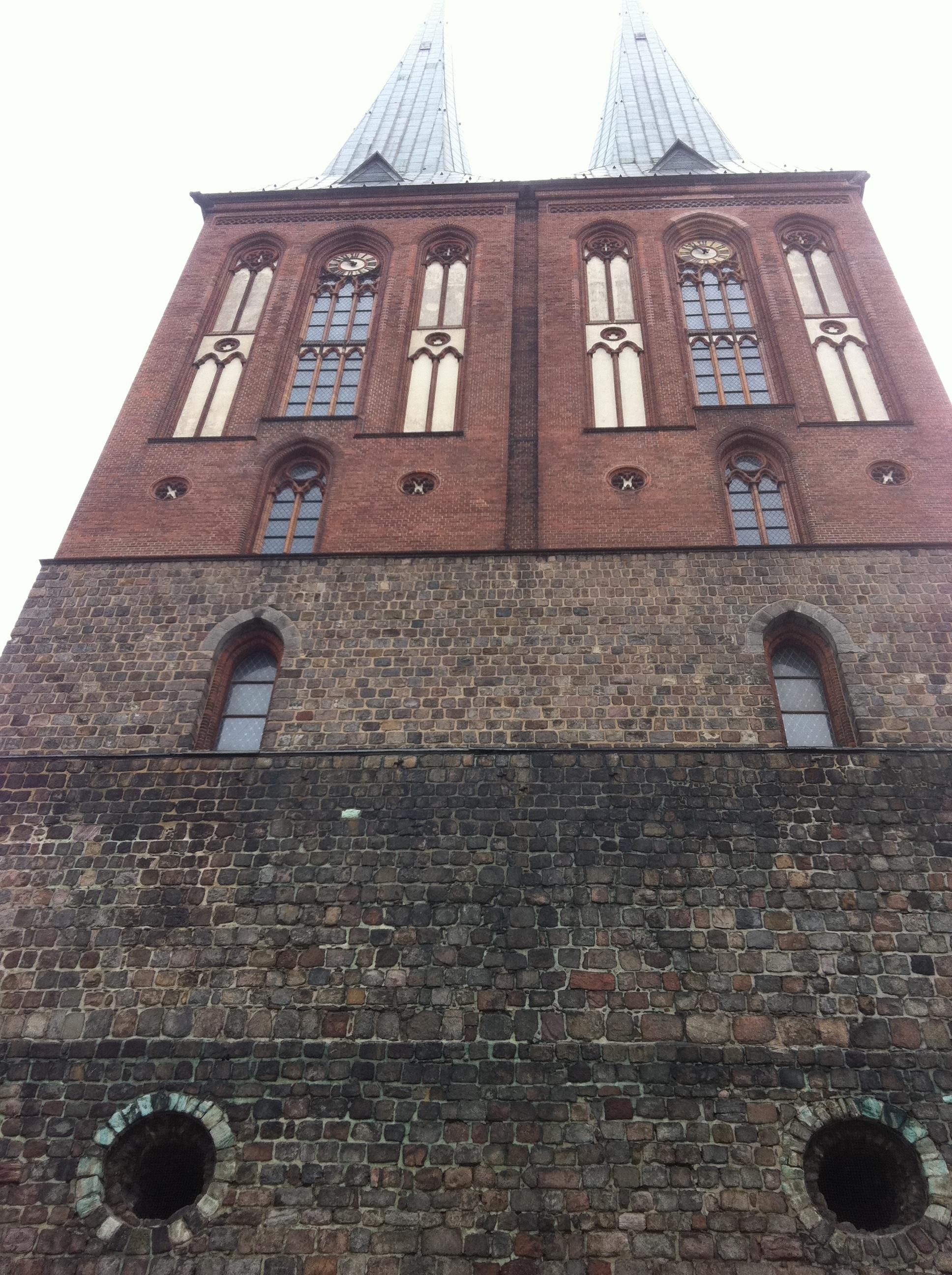 Nikolaikirche Berlin Vorderansicht